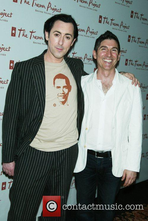 Alan Cumming and James Lecesne The Trevor Project...
