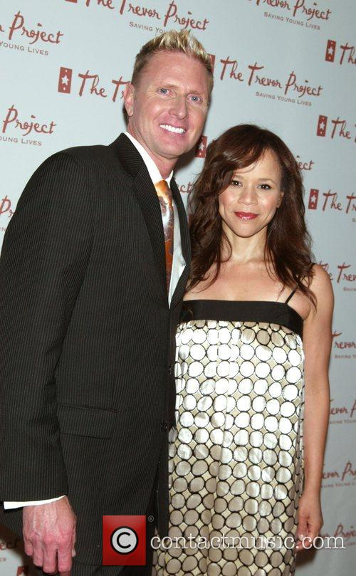 Charles Robbins and Rosie Perez The Trevor Project...