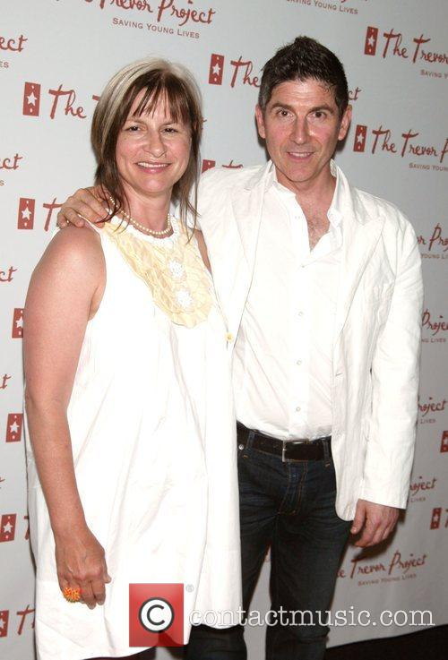 Peggy Rajski and James Lecesne The Trevor Project...