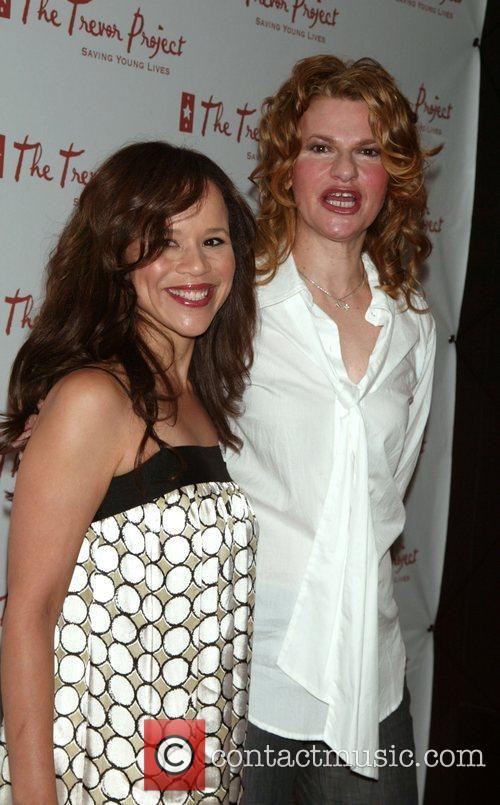 Rosie Perez and Sandra Bernhard 5