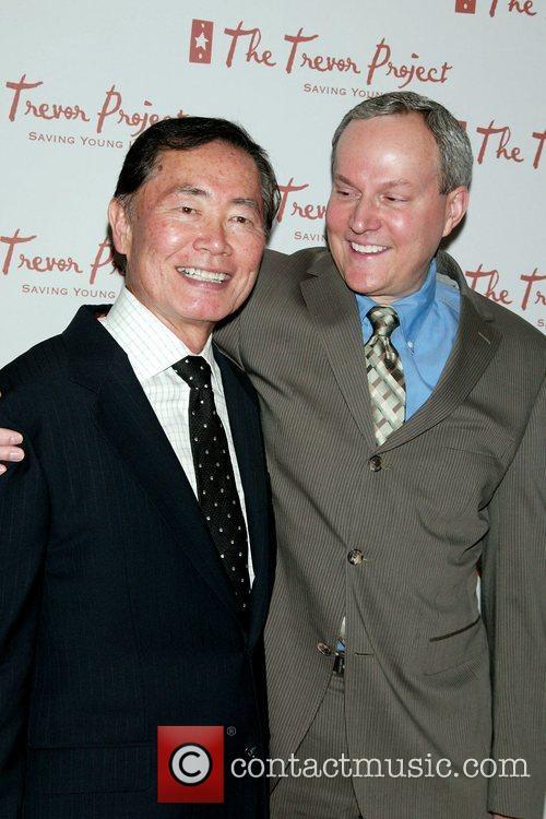 George Takai and Brad Altman The Trevor Project...