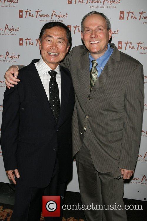 George Takai, Brad Altman The Trevor Project New...