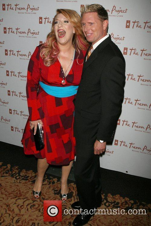 Lisa Lampanelli, Charles Robbins The Trevor Project New...