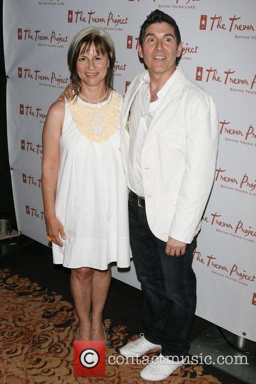 Peggy Rajski, James Lecesne The Trevor Project New...