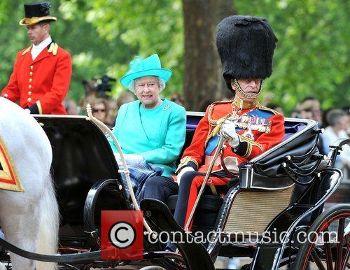 HRH Queen Elizabeth ll and Prince Philip, Duke...