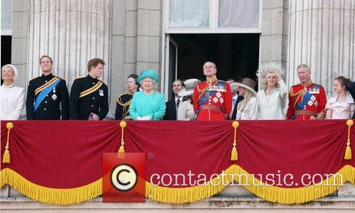 Prince William, Camilla Parker Bowles, Prince Charles and Prince Harry 8