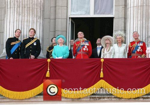 Prince William, Camilla Parker Bowles, Prince Charles and Prince Harry 1