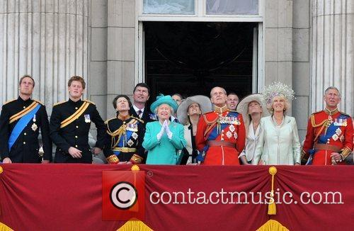 Prince William, Prince Harry, The Queen, the Duke...