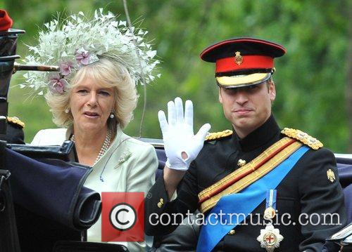 The Duchess of Cornwall and Prince William 5