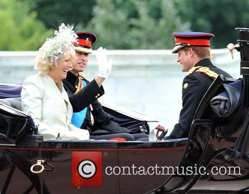 The Duchess Of Cornwall and Prince William 10