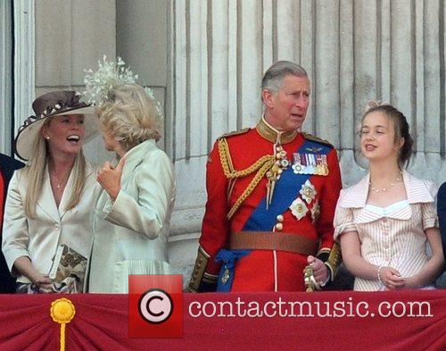 The Duchess of Cornwall and the Duke of...