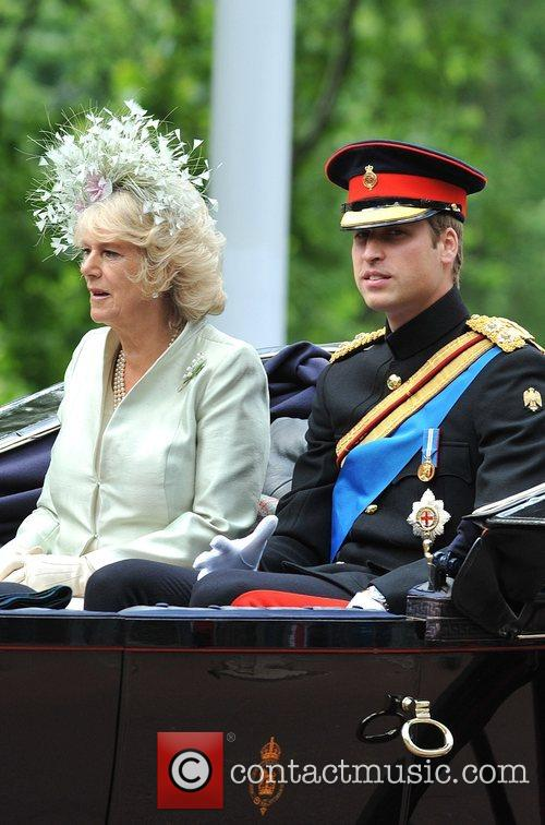 The Duchess Of Cornwall and Prince William 3