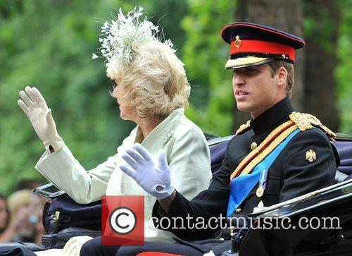 The Duchess Of Cornwall and Prince William 7