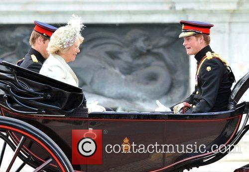 The Duchess Of Cornwall and Prince William 6