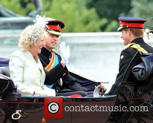 The Duchess Of Cornwall and Prince William 9