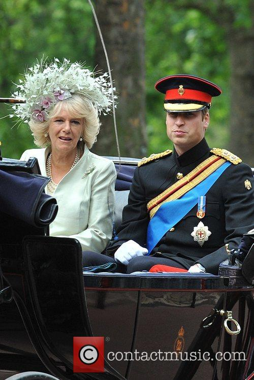 The Duchess Of Cornwall and Prince William 11