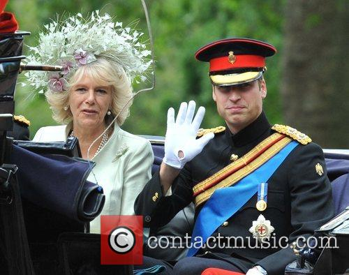 The Duchess Of Cornwall and Prince William 1