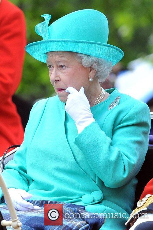 The Queen  On her way to the...