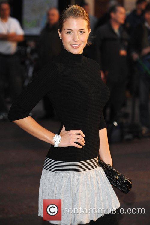 Gemma Atkinson The UK premiere of 'Tropic Thunder'...