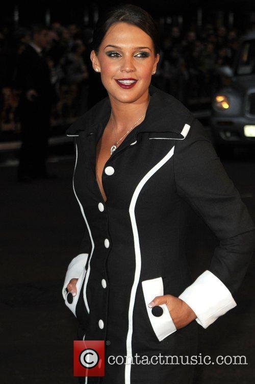 Danielle Lloyd The UK premiere of 'Tropic Thunder'...