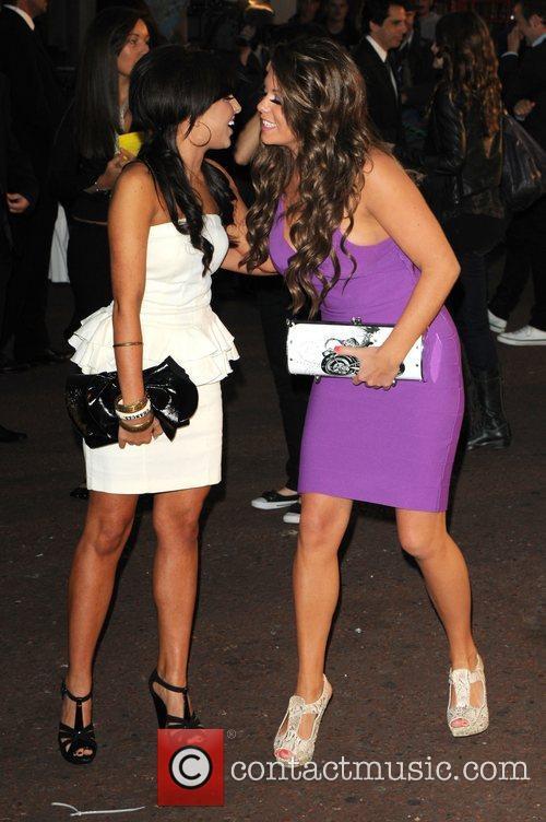 Louisa Lytton and Bianca Gascoigne The UK premiere...