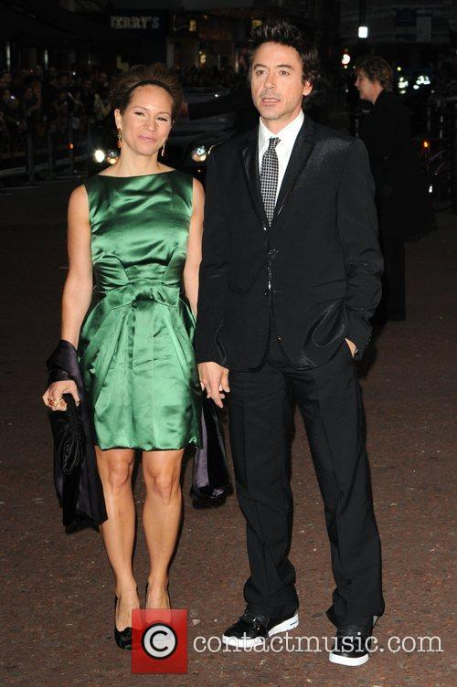 Rober Downey Jr and Guest The UK premiere...