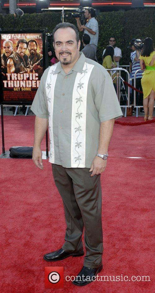 David Zayas Los Angeles premiere of Tropic Thunder...