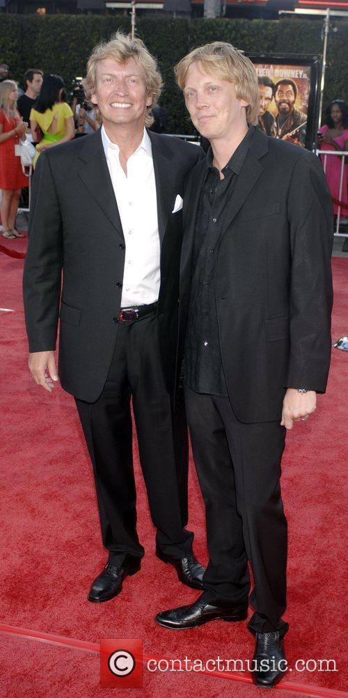 Nigel Lythgoe, Simon Lythgoe Los Angeles premiere of...