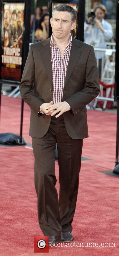 Steve Coogan Los Angeles premiere of Tropic Thunder...