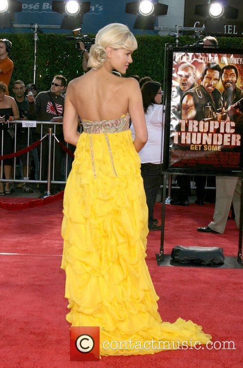 Anya Monzikova Los Angeles premiere of Tropic Thunder...