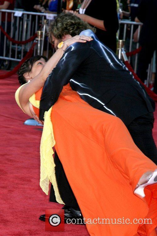 Jack Black and Tanya Haden Los Angeles premiere...