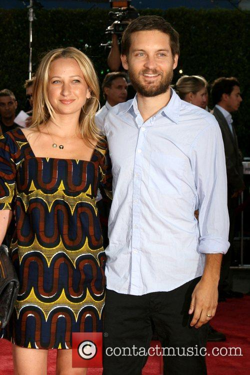 Jennifer Meyer and Tobey Maguire Los Angeles premiere...