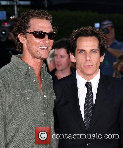 Matthew McConaughey and Ben Stiller Los Angeles premiere...