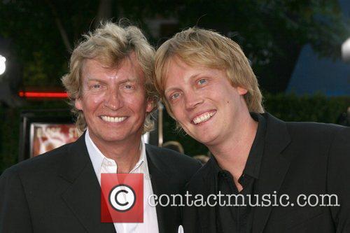 Nigel Lythgoe and Son Simon Los Angeles premiere...