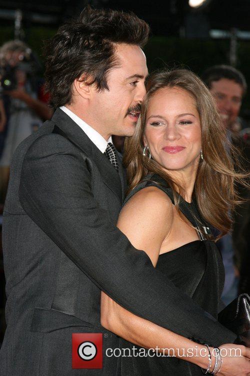 Robert Downey Jr and Susan Downey  Los...