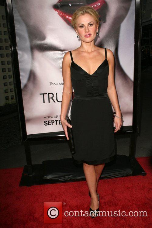 Anna Paquin Los Angeles Premiere of HBO's series...