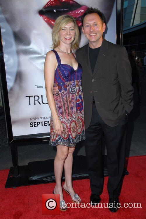 Carrie Preston and Michael Emerson Los Angeles Premiere...