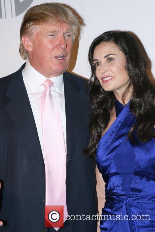 Donald Trump and Demi Moore 2