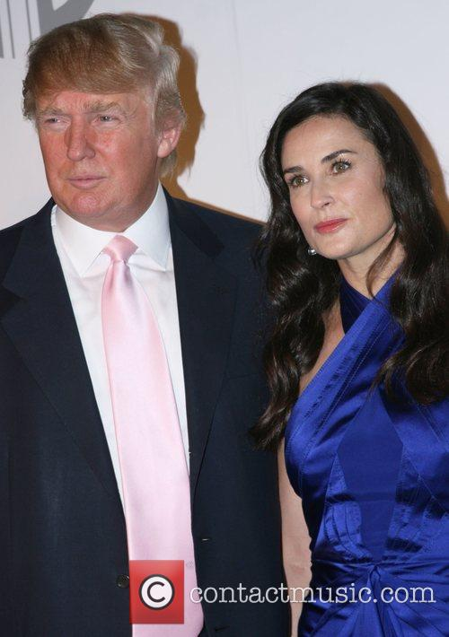Donald Trump and Demi Moore 1