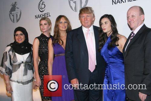 Guest, Demi Moore, Donald Trump and Ivanka Trump 2