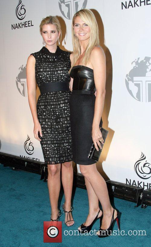 Ivanka Trump and Heidi Klum 4