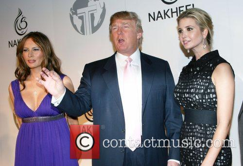 Melania Trump and Donald Trump 3