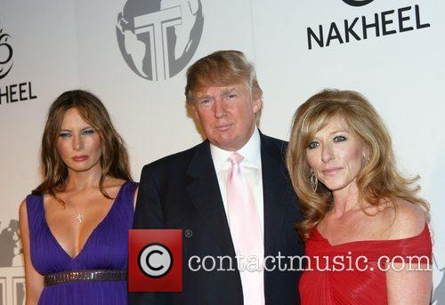 Melania Trump and Donald Trump 9
