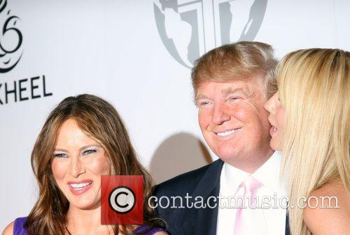 Melania Trump and Donald Trump 11