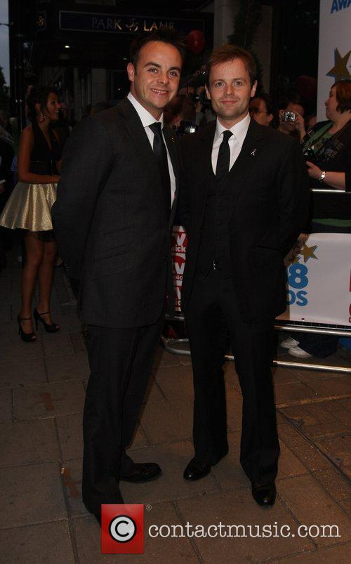 Anthony McPartlin and Declan Donnelly arrive at TV...