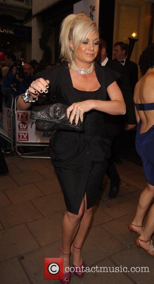 Rita Simmons, arrive at TV Quick & TV...