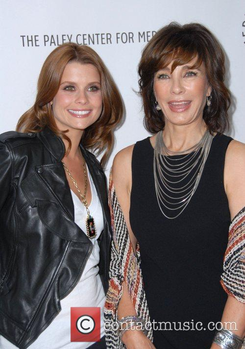 Joanna Garcia and Anne Archer at the TV...