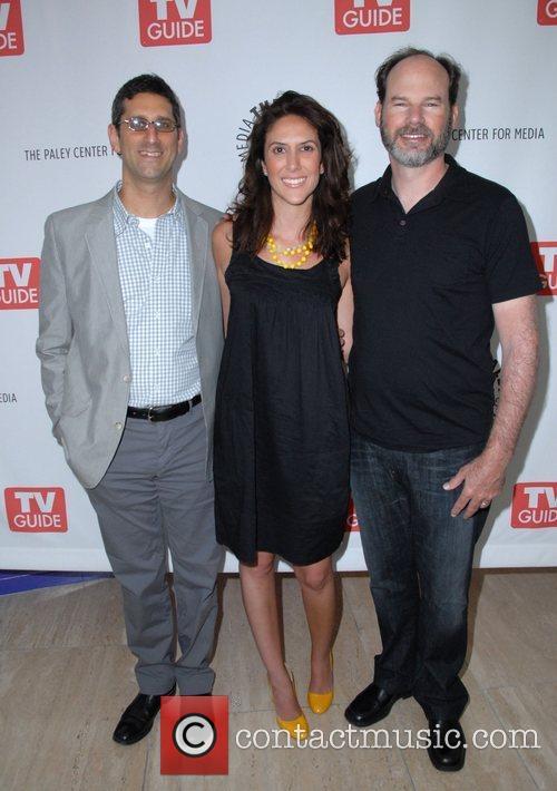 Michael Engler, Rina Momoun and Bob Levy at...