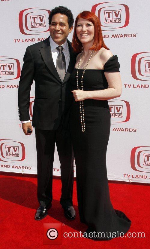 Oscar Nunez and Kate Flannery The 6th Annual...