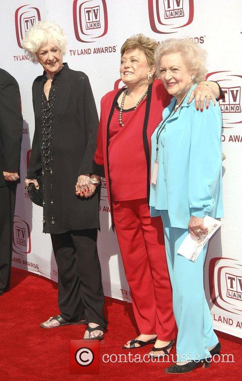 Rue McClanahan, Betty White and Beatrice Arthur The...